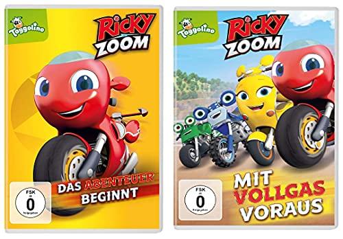 Ricky Zoom - DVD 1 + 2 (Das Abenteuer beginnt + Mit Vollgas voraus) im Set - Deutsche Originalware [2 DVDs]