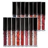 16 Couleurs Rouge à Lèvres Mat Richoose Nouveau Niveau Classique Maquillage...