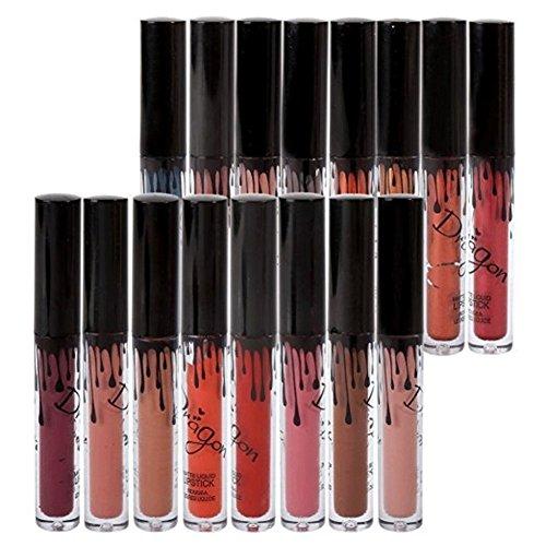 16 Couleurs Rouge à Lèvres Mat Richoose Nouveau Niveau Class