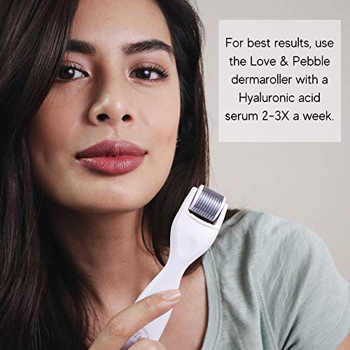 Love and Pebble Derma Roller Kit for Face & Body Skin Care