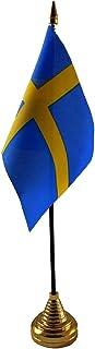 Zweden Handtafel of Waving Vlag Land Zweeds - Geen Basis