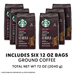 Starbucks Decaf Ground Coffee — Decaf Caffè Verona — 100% Arabica — 6 bags (12 oz.) 14 Decaf Caffè Verona coffee is well-balanced and rich with a dark cocoa texture While the look of the package has changed, this is still the same great-tasting Starbucks coffee you know and love Enjoy the Starbucks coffee you love without leaving the house