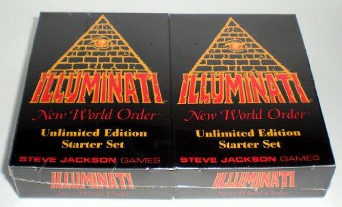 Illuminati New World Order Card Game Unlimited Edition Starter set...