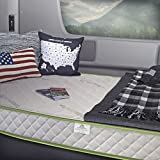 InnerSpace Luxury Products 8-Inch RV Luxury Deluxe Reversible Memory Foam Mattress, Narrow King,