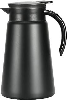 ステンレスコーヒーサーバー 真空断熱ステンレスポット 保温 保冷 卓上ポット カフェサーバー ドリッパーが直接使える ステンレス ダブル ステンレス 1000ml