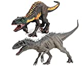 Gemini&Genius New Indominus Rex and Indoraptor Dinosaur Set Jurassic World Park Dinosaurs Action Figure Early Science Education and Collection Dino World Model Toys