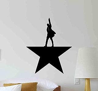 Alexander Hamilton Wall Decal Star Politics American Office Vinyl Sticker Gift Living Room Decorations Housewares Home Bedroom Decor Art Poster Mural Custom Print HDS1609