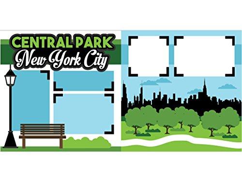 """""""Central Park NY"""" Scrapbook Page Kit"""