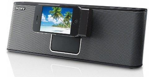 Sony RDPM15IPB Dockingstation für Apple iPod/iPhone schwarz