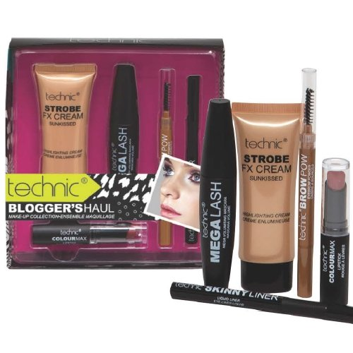 Technic Blogger die Haul Make Up Mascara Collection Kit