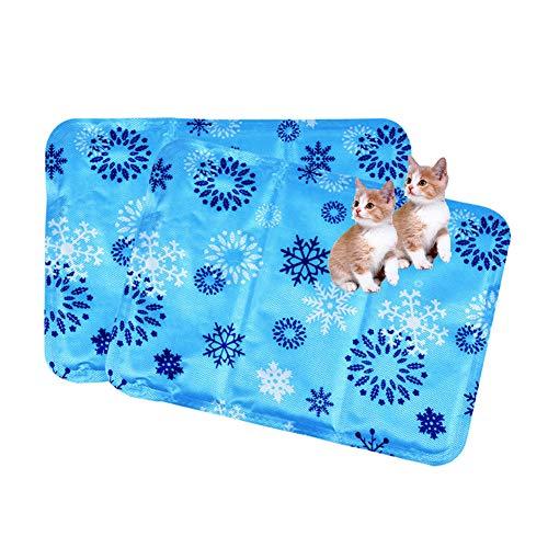 Gel De Perro Estera De Enfriamiento Cojín del Enfriador De Verano Gotitas De Agua Colchoneta De Hielo Cojín del Colchón para Mascotas para Cachorros Y Gatos Pequeños