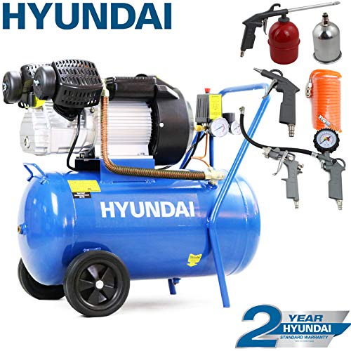 Hyundai HY3050V 3hp V-Twin Direct Drive Electric Air Compressor