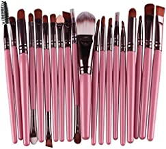 20pcs Make Up Sets Soft Powder Foundation Eyeshadow Eyeliner Lip Makeup Brushes