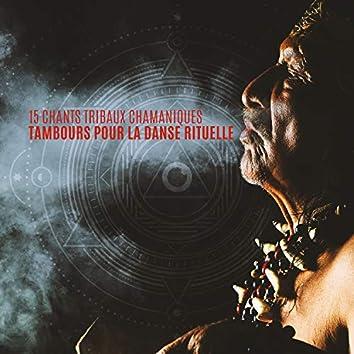 15 Chants tribaux chamaniques: Tambours pour la danse rituelle, Meditation africaine, Rêves chamaniques, Guérison africaine spirituale