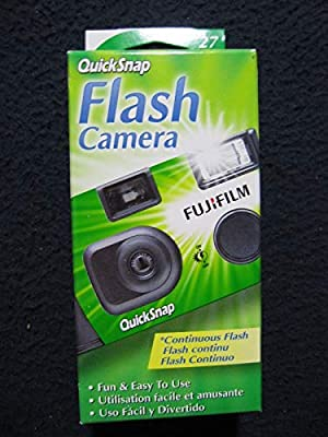Fujifilm QuickSnap Flash 400 One Time Use 35mm Camera with Flash by Fuji Photo Film Co. Ltd