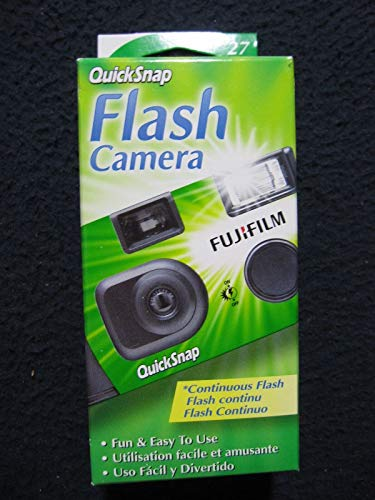 Fujifilm QuickSnap Flash 400 One Time Use 35mm Camera with Flash