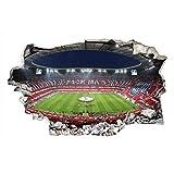 3D Fußball Wandtattoo Fussball Tapete Fussballstadion FCB