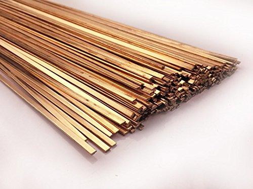 ONECHANCE Varilla de fósforo de cobre Varillas de soldadura de cobre planasredondas utilizadas para soldar tuberías de cobre de acondicionadores de aire y refrigeradores 2