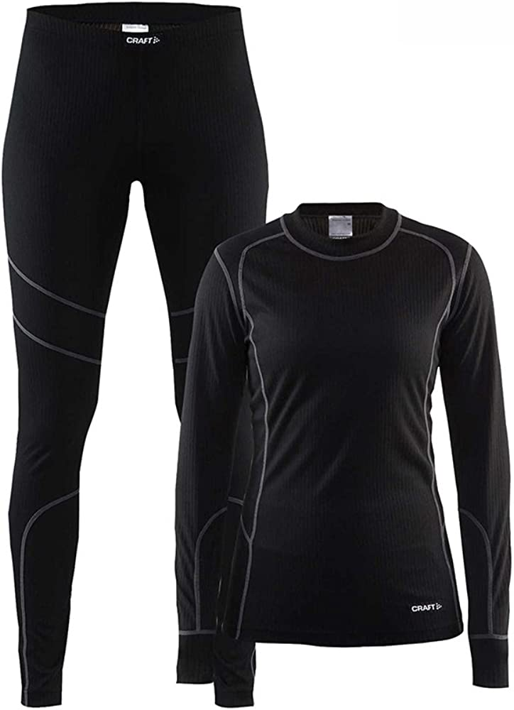 Craft Women's Base Layer Two Piece Set Shirt Max Limited price sale 64% OFF and Tights Pants