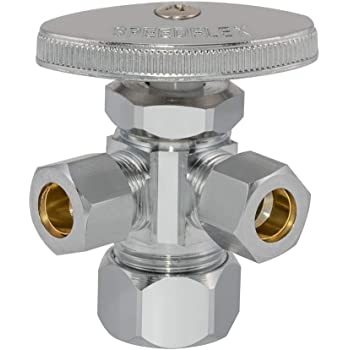 Eastman 04343LF multi turn dual outlet stop valve