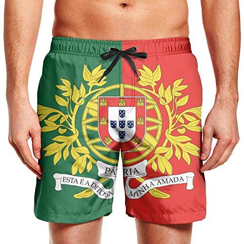 Hunter qiang - Pantalones cortos de surf para hombre, diseño de oso LGBT Multicolor multicolor L