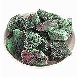 XBFVE Fichas caídas trituradas piedra natural para decoración, cálculos decorativos de jardín de grava de cuarzo (Color : 100g, tamaño : 2-3cm)