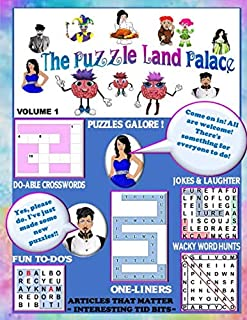 The Puzzleland Palace: Puzzle book
