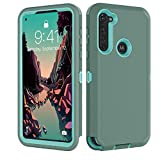 Moto G Stylus Case, Motorola G Power Case, Jmart Shockproof Drop Protection Full Body Protective Heavy Duty Hard Shell Anti-Slip Rubber Bumper Cover Phone Case for Motorola G Stylus/G Power-Green