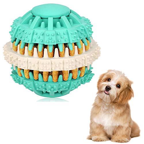 Ballen Voor Honden Puppy Speelgoed Hondentraining Kauwspeeltjes Interactief Hondenbal Schattige Blauwe Huisdieren Hondenbal Speelgoed Grappige Puzzel Honden Puppy Kauwtraining Speelgoed,Blue,M