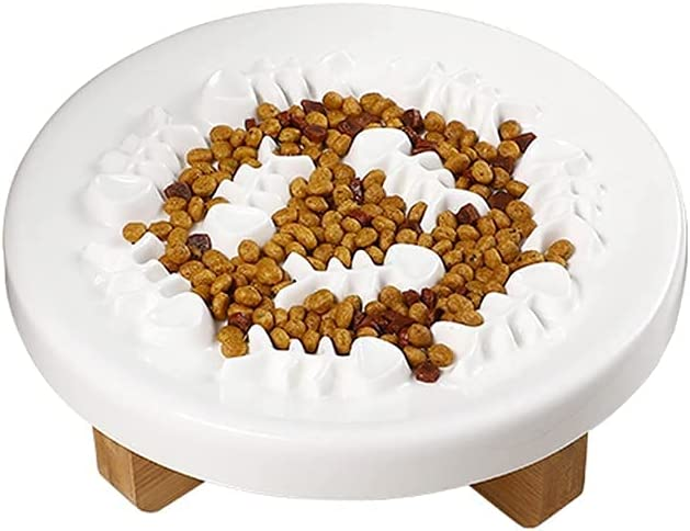 TEAYASON Slow Feeder security Dog Eating Bowl Max 57% OFF Bowls