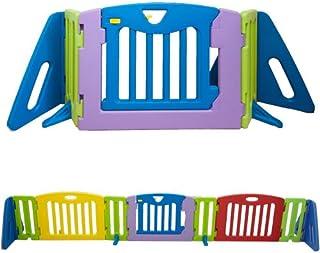 日本育児 ベビーゲート キッズパーテーション 6ヶ月~24ヶ月対象 カラフルで自由度の高いパーテーション