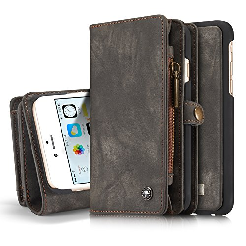 iPhone 6s Plus Wallet Case, iPhone 6 Plus Detachable...