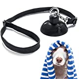 Dog Bathing Tether with Suction Cup for Pet Shower and Grooming
