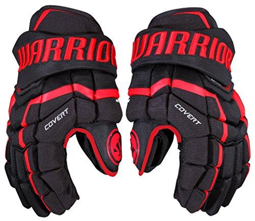Warrior Covert QRL Pro Handschuhe Junior, Größe:10 Zoll, Farbe:schwarz/rot