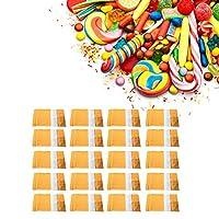 クラフト紙スタンドバッグ クラフト食品包装袋 20個入り 穀物保管用クラフト食品密封袋