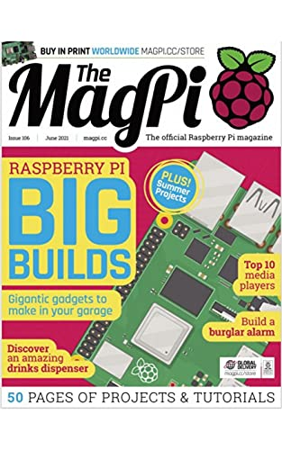 The MagPi Magazine: 50 Pages Of Projects & Tutorials (English Edition)