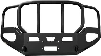 Warn 95225 Heavy Duty Front Bumper with Tubes for GMC Sierra 2500/3500