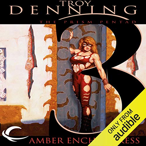 The Amber Enchantress Audiobook By Troy Denning cover art