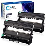 LxTek Compatible Drum Unit Replacement for Brother DR420 DR 420 TN450 TN 450 to use for HL-2270DW HL-2280DW HL-2240 HL-2240D MFC-7360N MFC-7460DN MFC-7860DW Printer(2 Black, High Yield)