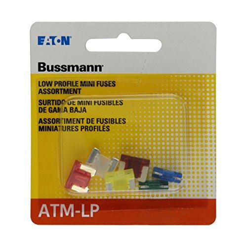 Bussmann (BP/ATM-A6LP-RP) ATM-LP Low Profile Fuse Assortment Kit - 6 Piece