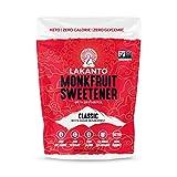 Lakanto Monkfruit 1:1 Sugar Substitute, Keto, Non-GMO (Classic White, 1 Pound)