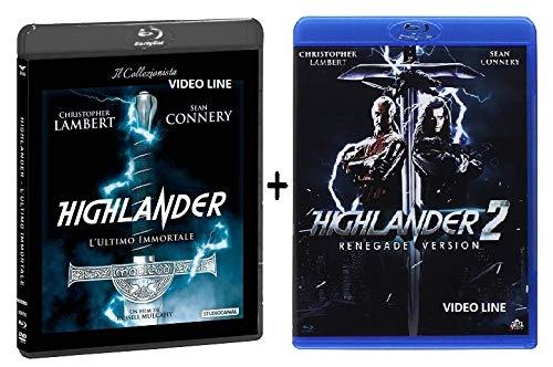 Highlander - L'Ultimo Immortale / Highlander 2 - Il Ritorno (2 Blu Ray) Edizione Italiana