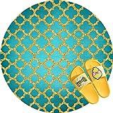 ROOMBA - Juego de 2 alfombrillas de baño para decoración de...