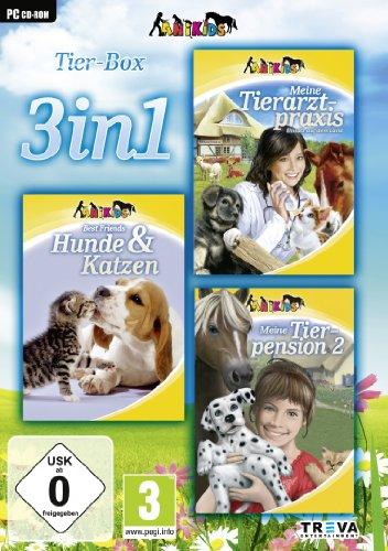 3 in 1 - Meine Tierarztpraxis: Einsatz auf dem Land + Best Friends: Hunde & Katzen + Meine Tierpension 2 - [PC]