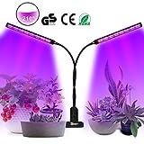 SKEY LED Pflanzenlampe, UV & IR Lampe 96 LEDs Grow Lampe dimmbar Pflanzenlicht Vollesspektrum...