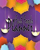 Fast Foods Planner: Snack Foods and Junk Foods Records: Track and Plan for Great Health, Daily Time Planning Keep Your Schedule Memo, With Colorful Cute Cove