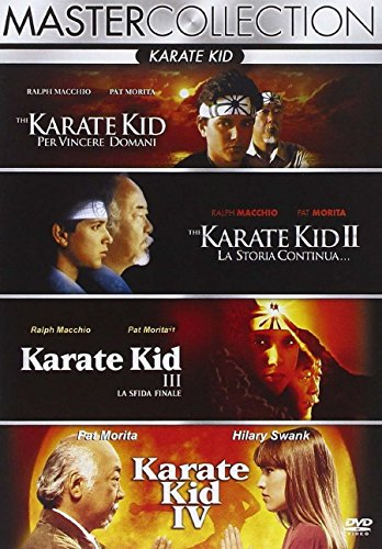 Karate Kid 1 & 2 & 3 & Next Karate Kid - deutscher Ton (4-DVD)