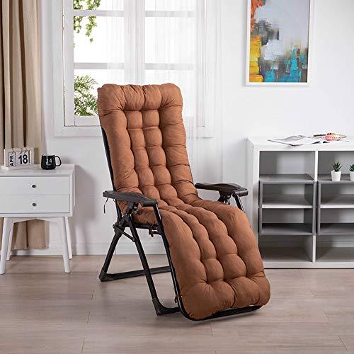 Cangle Home - Cojín reclinable de verano para silla mecedora, cojín de silla de mimbre, cojín...