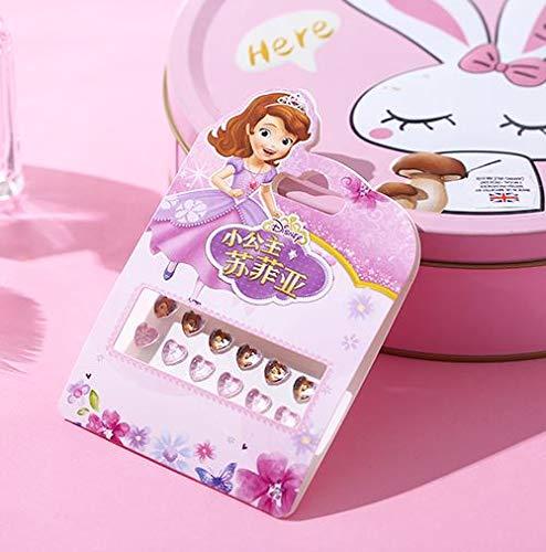 Niñas Maquillaje Juguetes Pegatinas de uñas Pendientes para niños Pegatina Juguetes Juguete para niños Pegatinas-3