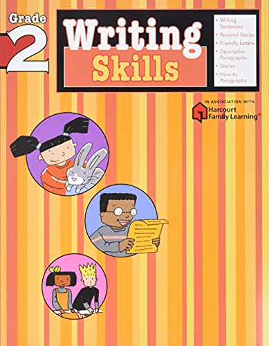 Writing Skills: Grade 2 (Flash Kids Harcourt Family Learning)